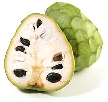 Le fruit cherimoya un anti-cancer naturel puissant